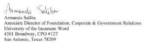 Armando's Signature